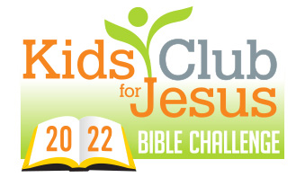 Kids Club for Jesus Monthly Bible Challenge logo
